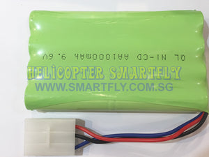 Ni-Cd 9.6V 1000mah battery 3 pin Tamiya connector N2