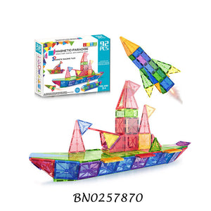 92 pcs Magnetic Blocks