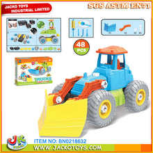 Load image into Gallery viewer, City Truck DIY Bulldozer Cartoon Truck (D1)