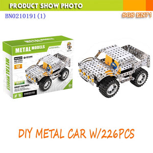 DIY ALLOY CAR