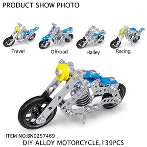 DIY ALLOY MOTORCYCLE