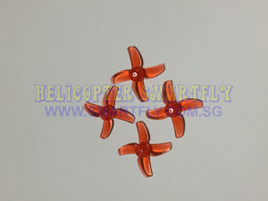 2 pairs 40mm 4-blade propellers for Emax EZ Pilot FPV Racing Drone