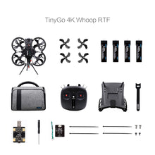 Load image into Gallery viewer, RTF GEPRC TinyGO 4K Racing FPV Whoop (Mode 2)