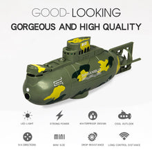 Load image into Gallery viewer, Mini RC Submarine 3311M