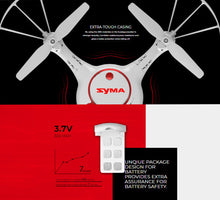 Load image into Gallery viewer, Syma X5UW -D WiFi FPV Camera Drone with Optical Flow