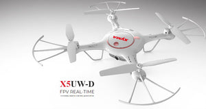 Syma X5UW -D WiFi FPV Camera Drone with Optical Flow