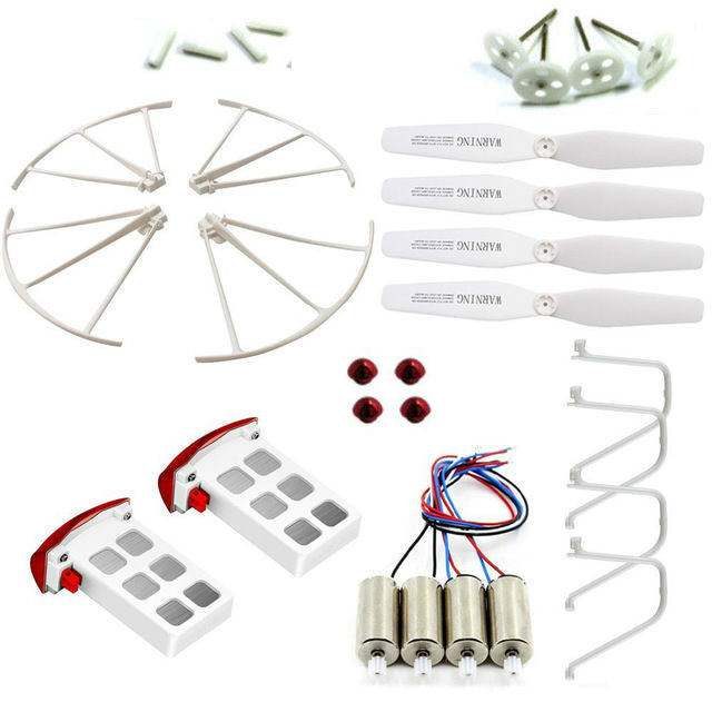 Syma X5UW / X5UW-D spare parts with 2 batteries