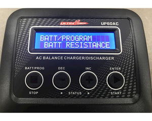 Ultra Power Charger UP60AC for Lipo/Ni-cd/Li-ion batteries