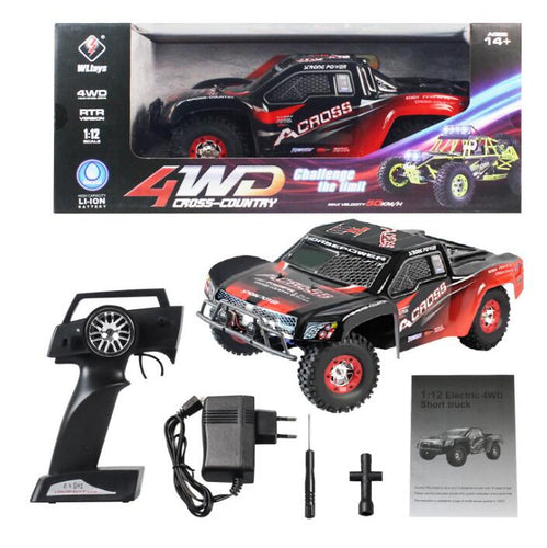 WL Toys 12423 50km RC Truck 4WD 1/12 scale