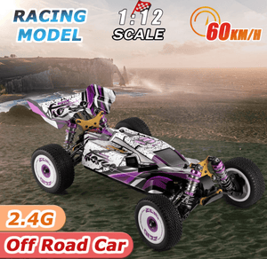 WL Toys 124019 60km RC buggy 4WD 2.4G