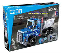 Load image into Gallery viewer, Cada Technic Blue Truck