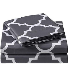 Load image into Gallery viewer, Bed Sheet Set - Brushed Microfiber 1800 Bedding - 4 Piece