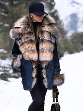 Load image into Gallery viewer, Big Collar High End Imitation Fur Coats