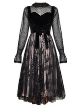 Load image into Gallery viewer, Sexy Muslin Lace Lace-up Party Dress