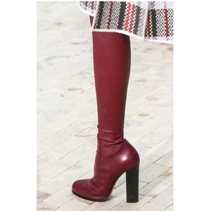 Stretchy Calf Over-the-Knee Boots Thigh High Boots