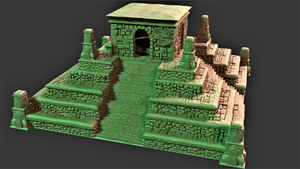 The Temple of Tikal - Modular Set