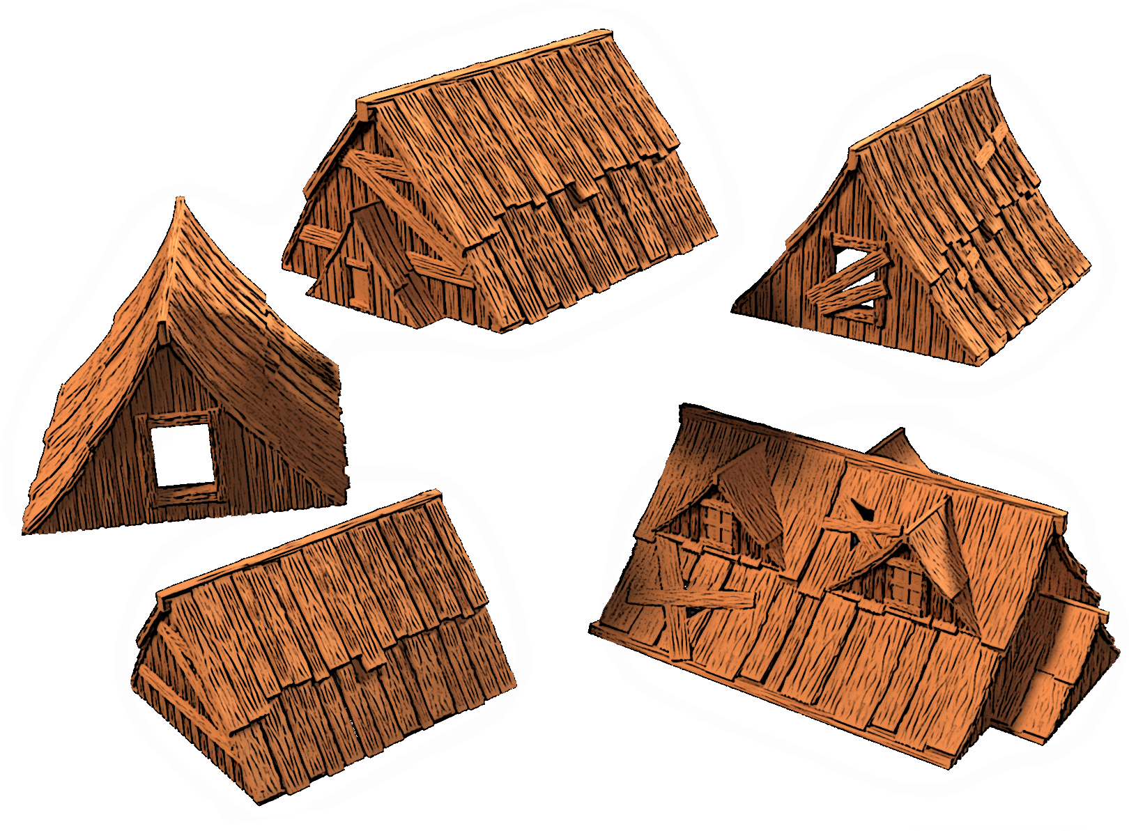 The Tormented Village Modular Terrain Set