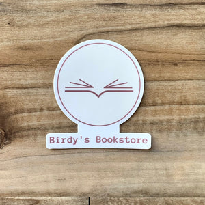 Birdy's Sticker - Birdy's Bookstore