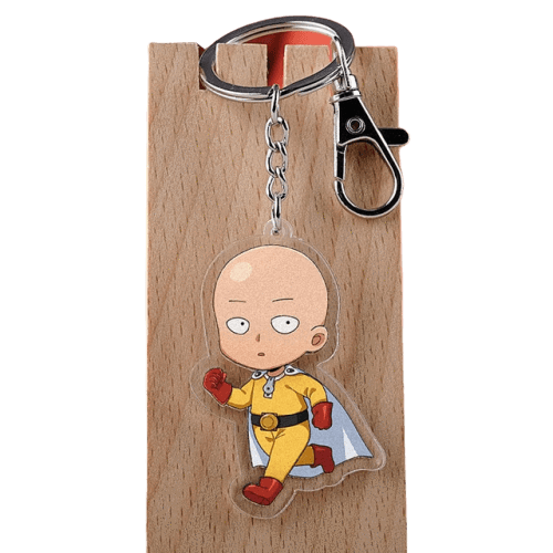 Porte-Clé One Punch Man<br> Saitama - Super Héros Store