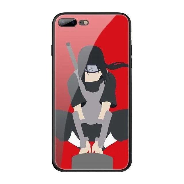 Coque Naruto iPhone<br> Itachi Art (Verre Trempé) - Super Héros Store