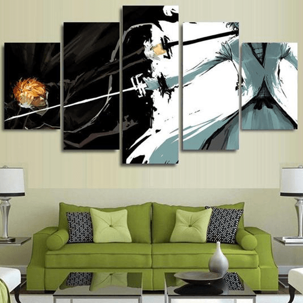 Tableau Bleach<br>Ichigo vs Zangetsu - Super Héros Store