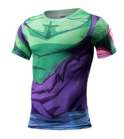 T-Shirt Musculation <br />Dragon Ball Z Piccolo - Super Héros Store