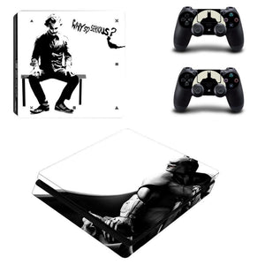 Stickers PS4 DC The Joker et Batman - Super Héros Store
