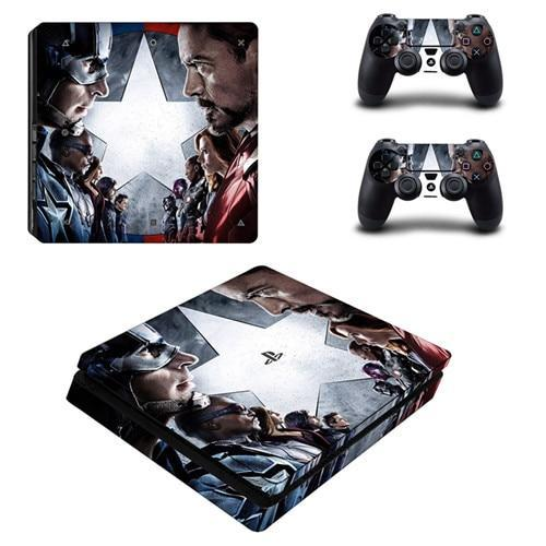 Stickers PS4 Marvel Avengers War - Super Héros Store