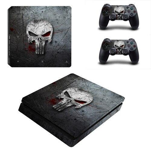 Stickers PS4 The Punisher Marvel - Super Héros Store