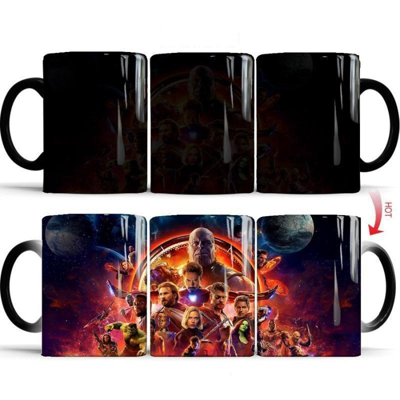 Mug Thermosensible Avengers Infinity War - Super Héros Store