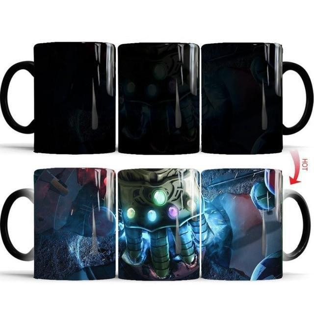 Mug Thermosensible Marvel Avengers - Super Héros Store