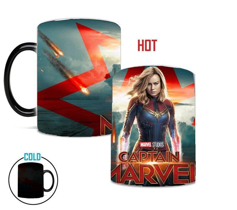 Mug Thermosensible Captain Marvel - Super Héros Store