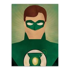 Poster DC Comics <br/>Green Lantern Angel - Super Héros Store