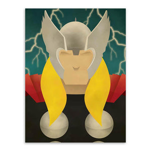Poster Marvel <br/>Thor Angel - Super Héros Store