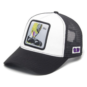 Casquette Dragon Ball Z <br/>Cell Blanc - Super Héros Store