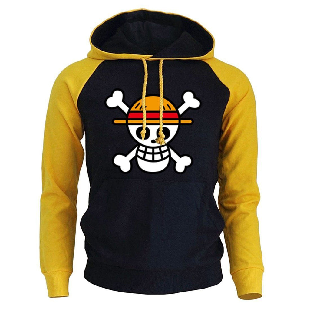 Sweat One Piece<br> Luffy Jolly Roger - Super Héros Store