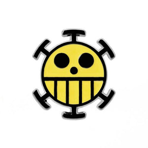 Pin's One Piece <br> Jolly Roger Trafalgar Law - Super Héros Store
