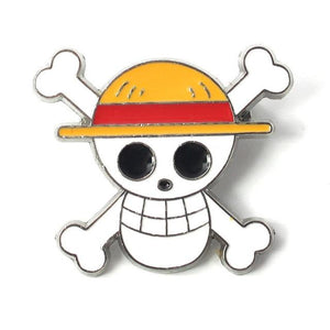 Pin's One Piece <br> Jolly Roger Mugiwara - Super Héros Store