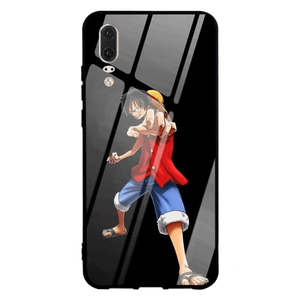 Coque One Piece Huawei<br> Luffy Fight (Verre Trempé) - Super Héros Store
