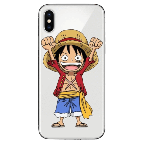 Coque One Piece iPhone<br> Mini Luffy - Super Héros Store