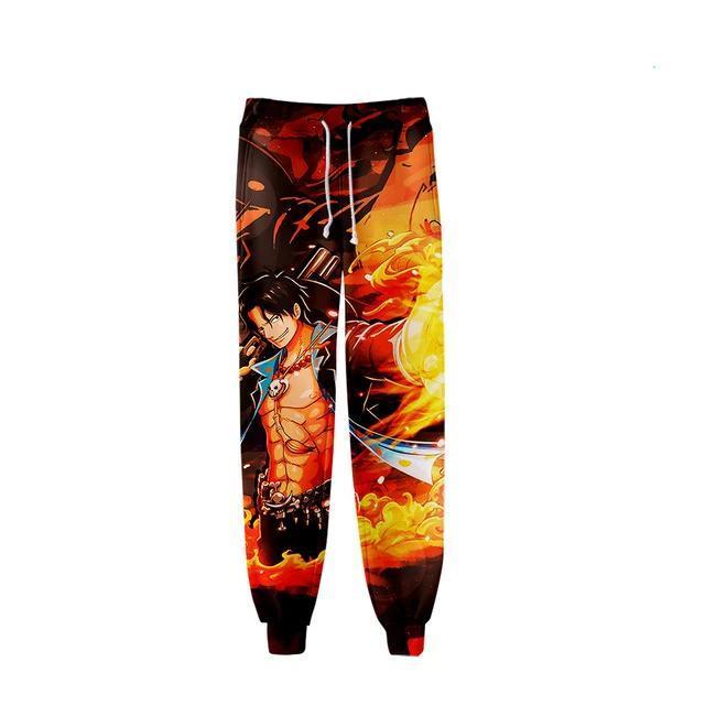 Jogging One Piece<br> Portgas D. Ace - Super Héros Store