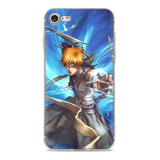 Coque Bleach iPhone<br> Ichigo Fan Art - Super Héros Store