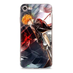 Coque Bleach iPhone<br> Ichigo Peinture - Super Héros Store