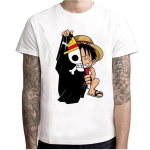 T-Shirt One Piece<br> Luffy Enfant - Super Héros Store