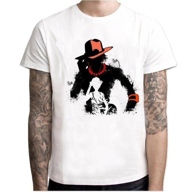 T-Shirt One Piece<br> Ace & Luffy - Super Héros Store