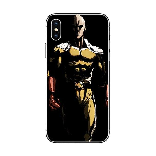 Coque One Punch Man iPhone<br> Saitama Vénère - Super Héros Store