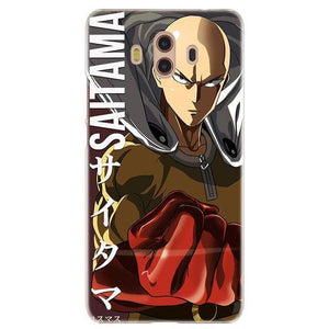 Coque One Punch Man Huawei<br> Saitama Destructeur - Super Héros Store