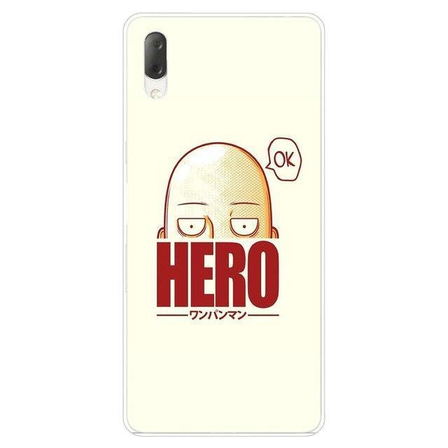 Coque One Punch Man Sony<br> Saitama Mème - Super Héros Store