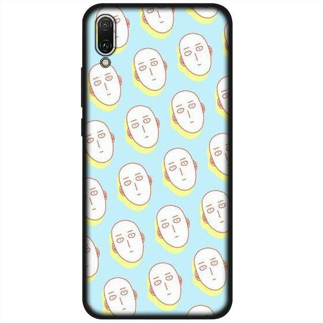Coque One Punch Man Huawei<br> Saitama Inexpressif - Super Héros Store