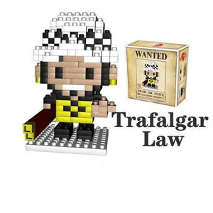 NanoBlock One Piece<br> Trafalgar Law - Super Héros Store